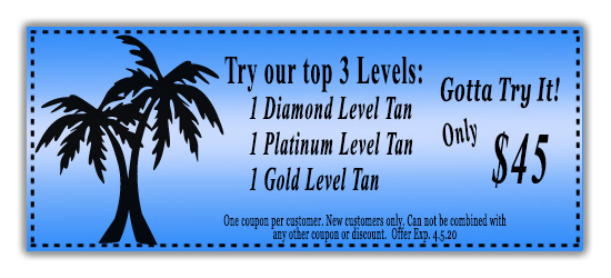 Tanning salon specials 20% off coupon